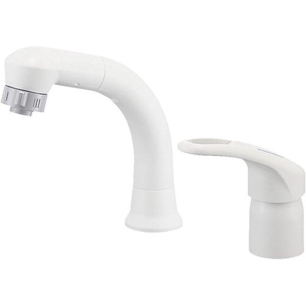 画像1: 洗面化粧台用シャワー混合水栓K37610EJV-13 標準取付工事費別途 (1)