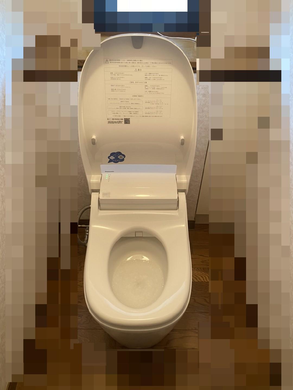 トイレ施工写真