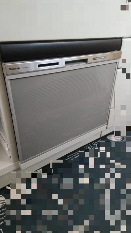 食洗機施工写真